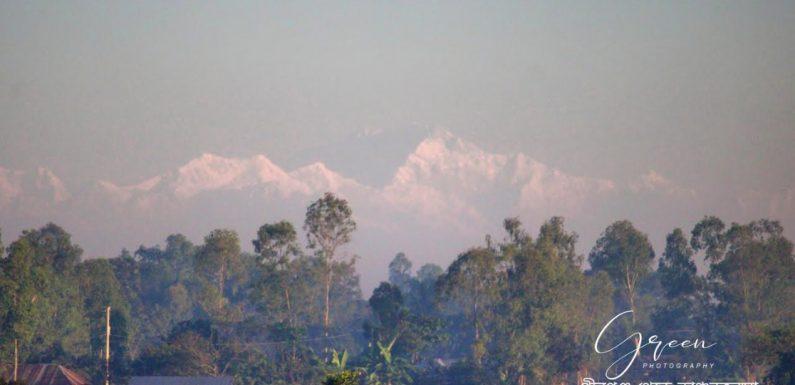 শুধু তেঁতুলিয়া নয় ঠাকুরগাঁও পীরগঞ্জ থেকেও দেখা যাচ্ছে কাঞ্চনজঙ্ঘা