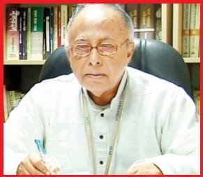 অধ্যাপক রফিকুল ইসলাম মাতৃভাষা পদকটি পাচ্ছেন