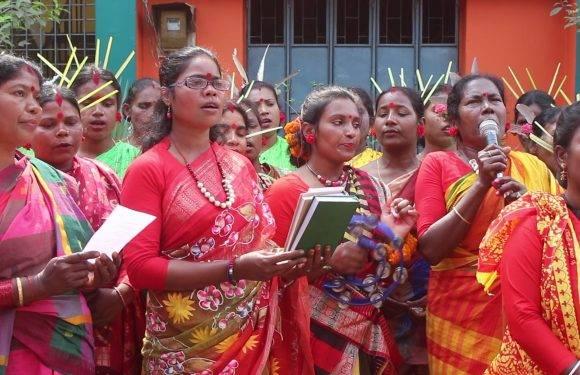ঠাকুরগাঁওয়ে আদিবাসিদের ভাষা ও সাংস্কৃতিক চর্চা প্রতিযোগীতা