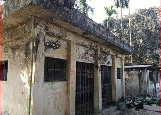 পঞ্চগড় ধাক্কামারা রেজিস্ট্রি অফিস সংলগ্ন কোটি টাকার শৌচাগার আছে নেই দেখভাল