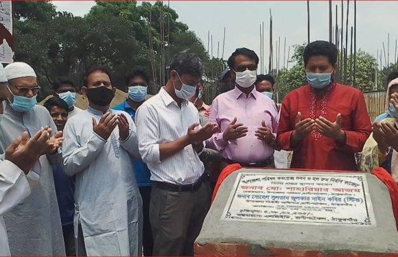 রানীশংকৈল উপজেলা কমপ্লেক্স ভবন ও হলরুমের ভিত্তি স্থাপনের শুভ উদ্বোধন