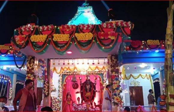 ঠাকুরগাঁও কেন্দ্রীয় শ্মশান কালী মাতা মন্দিরে অমাবস্যা পূজা কাল